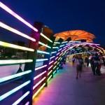 SRO, Philips and SUTD Christmas Interactive Lighting Display 02