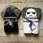 Set of two towels Darth Vader and Storm Trooper