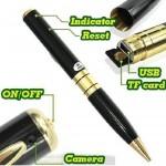 Spy Gadgets Pen Camera