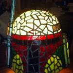 Stained Glass Tiffany Style Boba Fett Helmet