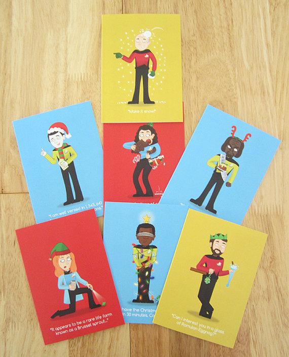 Star Trek Christmas Cards