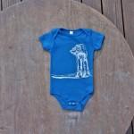 Star Wars AT-AT Walker American Apparel Baby Onesie