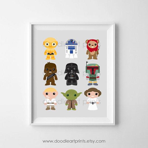 Star Wars Art Print- Nurser