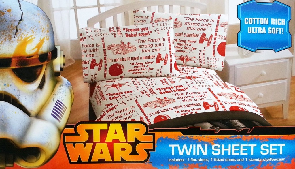 Star Wars Bedding Sets Lucas Film Star Wars You be The Character Sheet Set, Twin