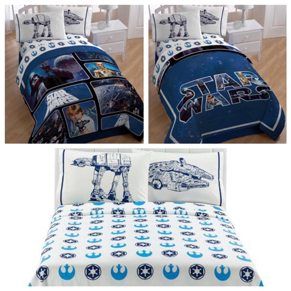 Star Wars Bedding Sets Star Wars Saga Classic Reversible Full Size Bedding Set - Full Comforter, Sheet Set & Pillow Cases