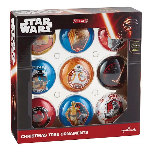 Star Wars Episode VII 6 Ct Assorted Ornament