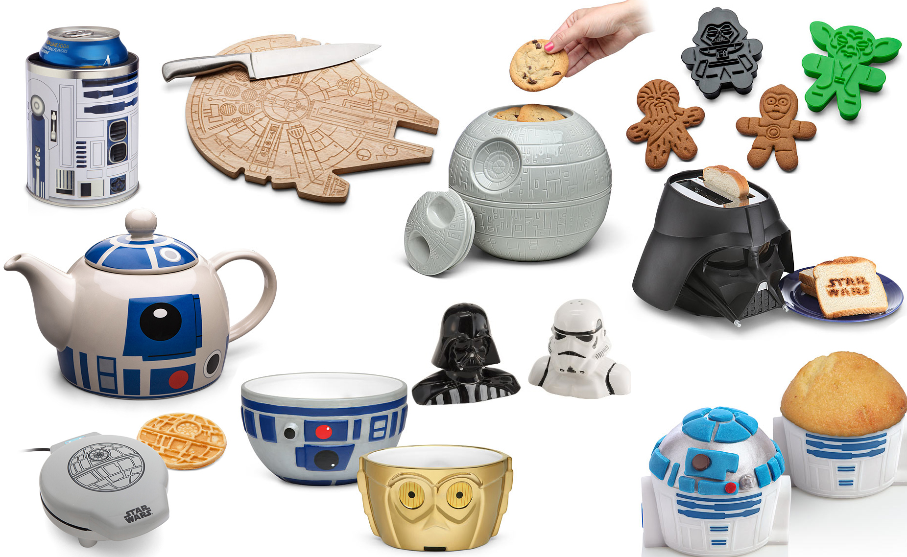 35 Star Wars Gadgets Every Kitchen in The Galaxy Must Have | Walyou