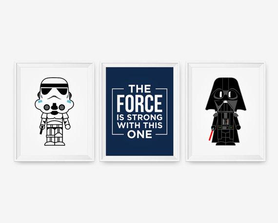 Star Wars Nursery Art Prints,