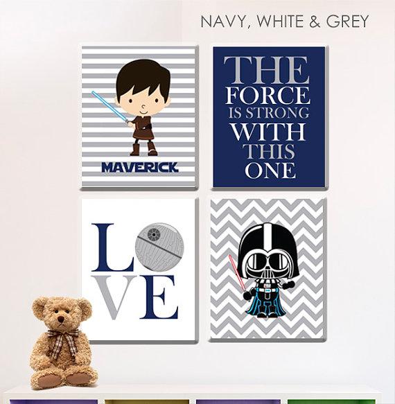 Star Wars Nursery Art gift