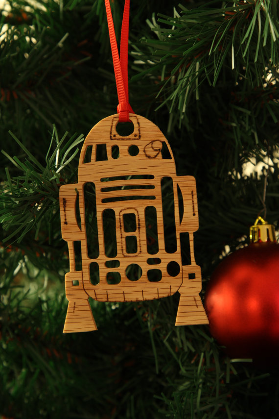 Star Wars R2D2 Christmas Ornament