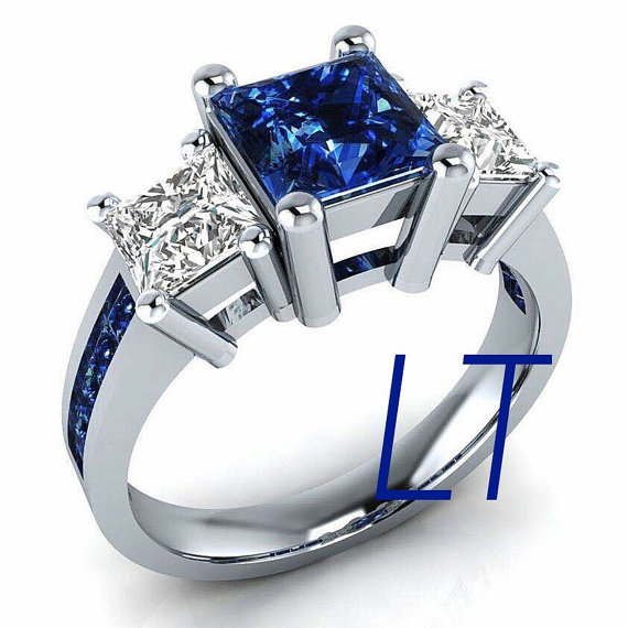Star Wars' R2D2 Inspired Engagement ring