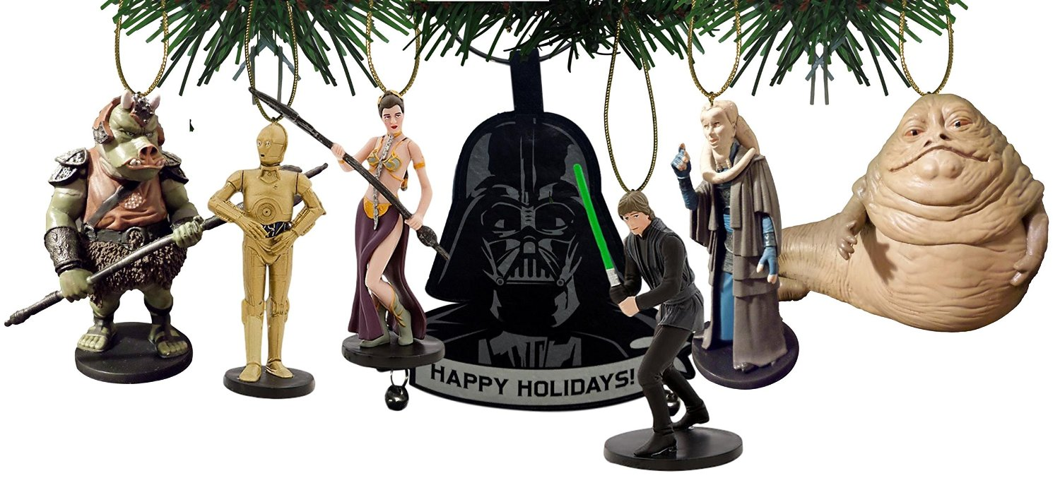 Star Wars Return of the Jedi 7 pc. Ornament Set