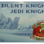 Star Wars Santa Yoda Christmas Card
