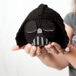 Star Wars inspired Darth Vader Crochet Hat
