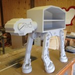 Star Wars inspired storage unit