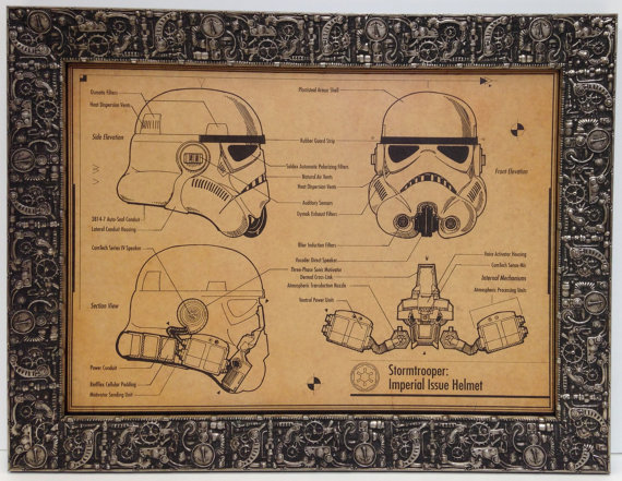 Steampunk Art, Star Wars The Force Awakens