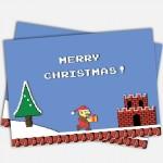Super Mario Bros Christmas Card