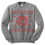 Ugly Christmas Sweater House Targaryen