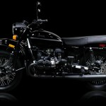 Ural Dark Force a motorcycle fit for a Sith Lord