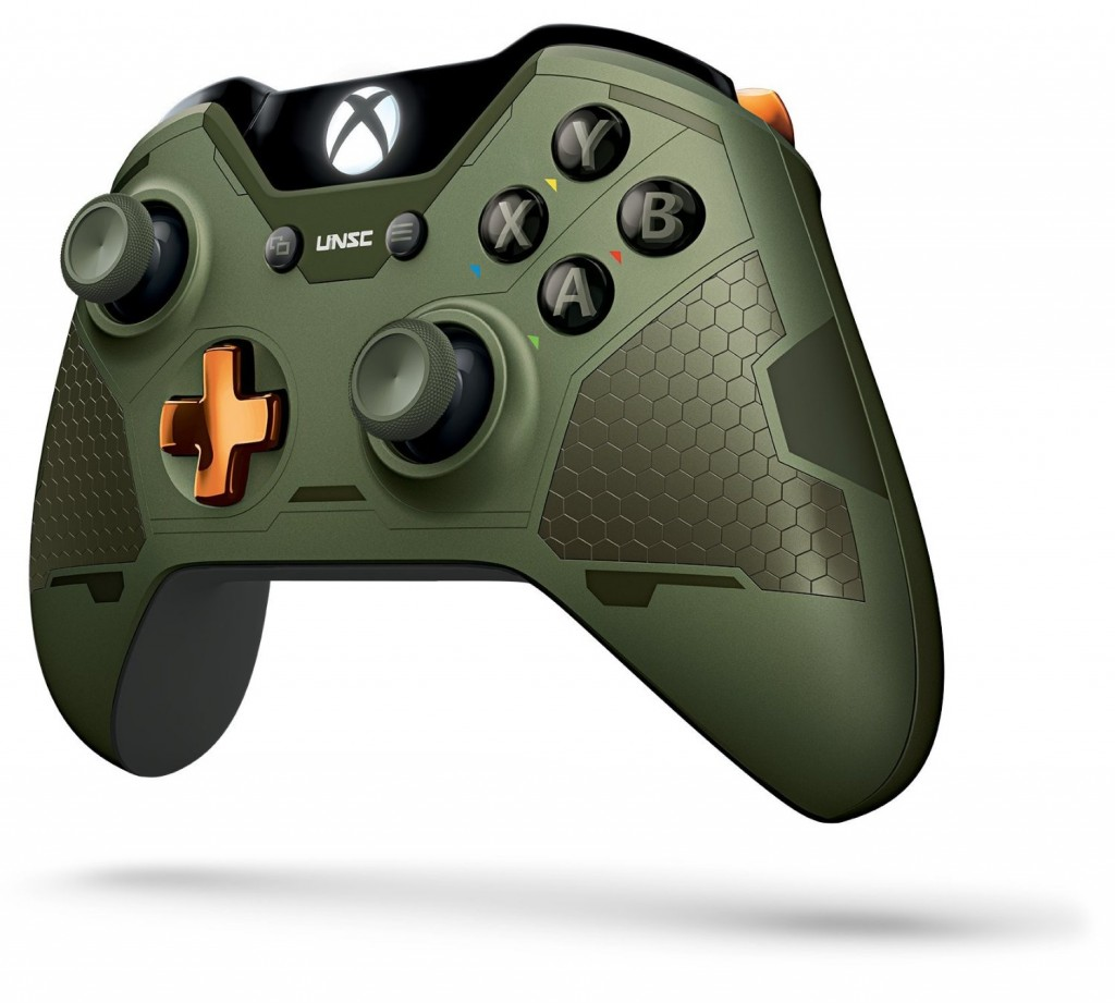 Xbox One Limited Edition Controllers Halo 5 Guardians Master Chief Wireless Controller