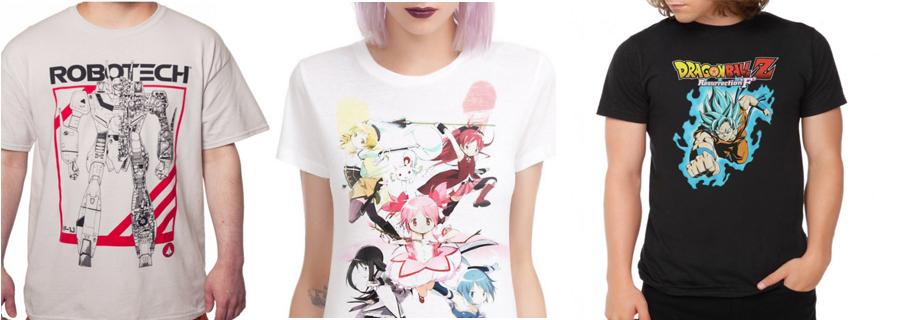anime t shirts