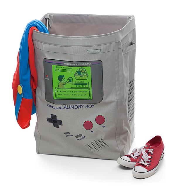 gift idea for gamers under 30 bucks LaundryBoy Hamper