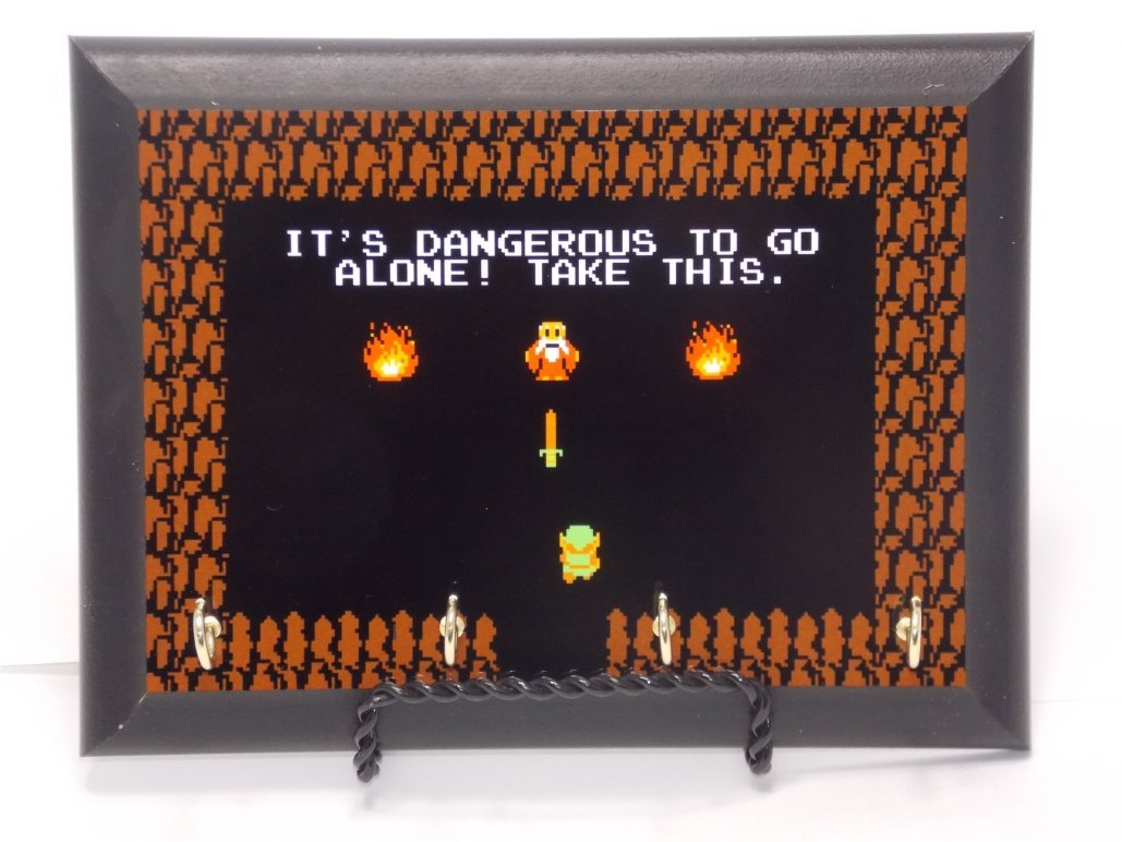 gifts or gamers under 20 bucks Zelda Key Hanger