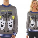 mtaching womens-ugly-hanukkah-sweater