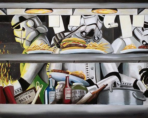 star wars Stormtrooper art