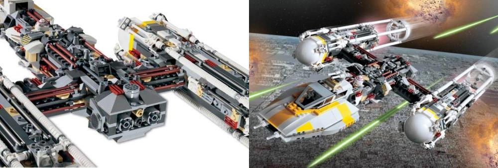 star wars lego sets LEGO Star Wars Set #10134 YWing Attack Starfighter