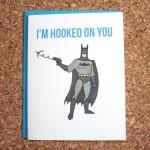 Batman Card nerdy Valentine's Day card