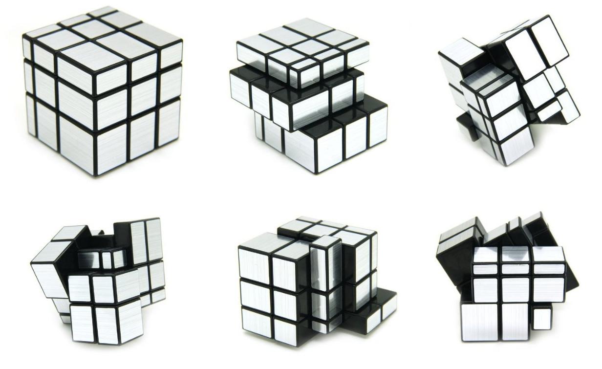 Cool Rubik's Cubes ShengShou 3 x 3 Mirror Cube Puzzle