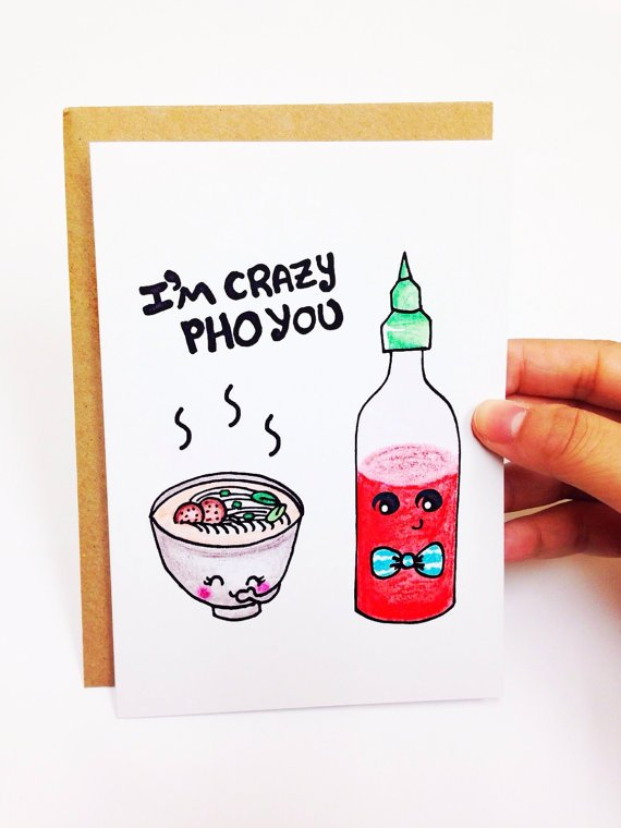 Valentines Day Card Funny Pun Card Pun Love Card For Boyfriend
