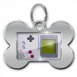 Game Boy Dog ID Tag