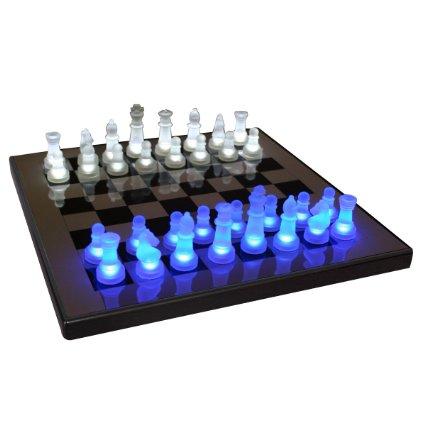 LED Glow cool Chess Set