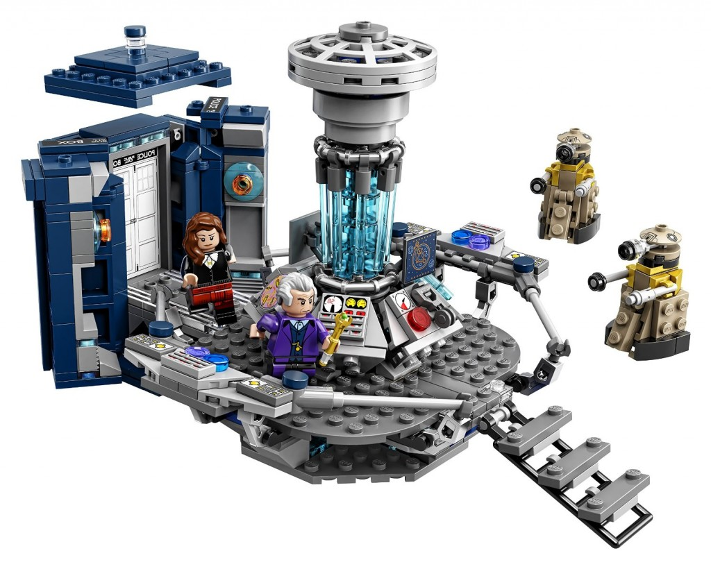 Lego Ideas Doctor Who Building Kit