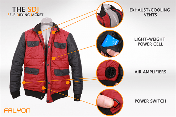 Marty McFly Self-Drying Jacket
