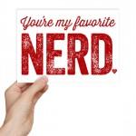 Nerdy Valentine's Day Card