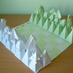 Origami Chess Set – Green