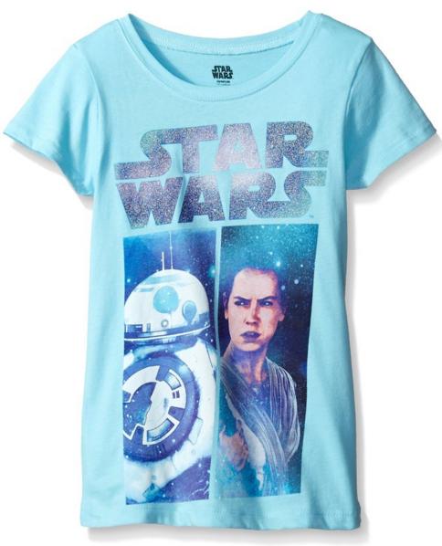 Rey & BB-8 Girls T-Shirt