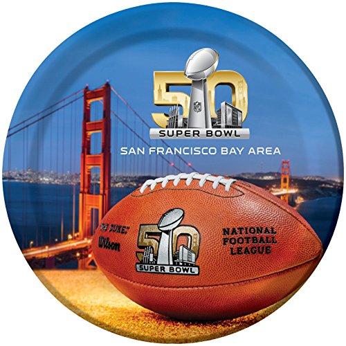 Super Bowl 50 Plates