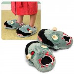 Valentines Day gift idea geeky zombie slippers