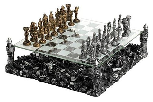 cool 3D Knight Chess Set