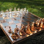 cool Chess Set of Dragons