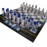 cool Doctor Who Chess Set