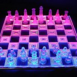 cool PHOTON CHESS – LED Glowing Chessboard