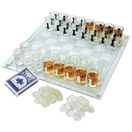 cool Shot Glass Chess Set