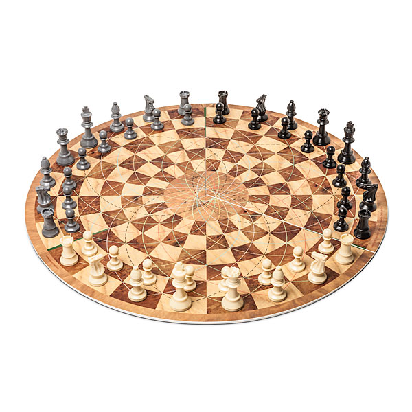 cool Three Player Circular Chess