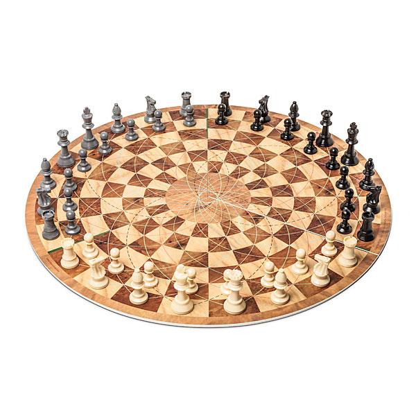 cool Three Player Circular Chess