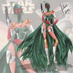 if star wars characters were fashion models 1